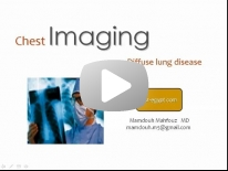 Diffuse lung disease - DRE 4 - Dr Mamdouh Mahfouz