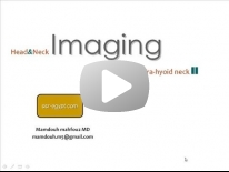 Imaging of Infrahyoid neck part 2 - Dr Mamdouh Mahfouz