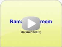 How to spend your time in Ramadan - Dr Mamdouh Mahfouz